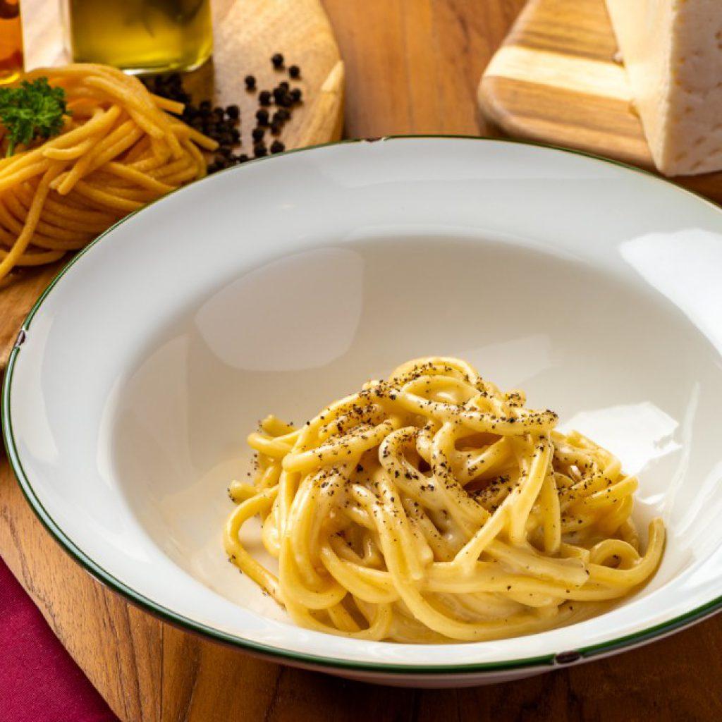 Nonna Nella by Lenzi_spaghetti cacio e pepe in Bangkok