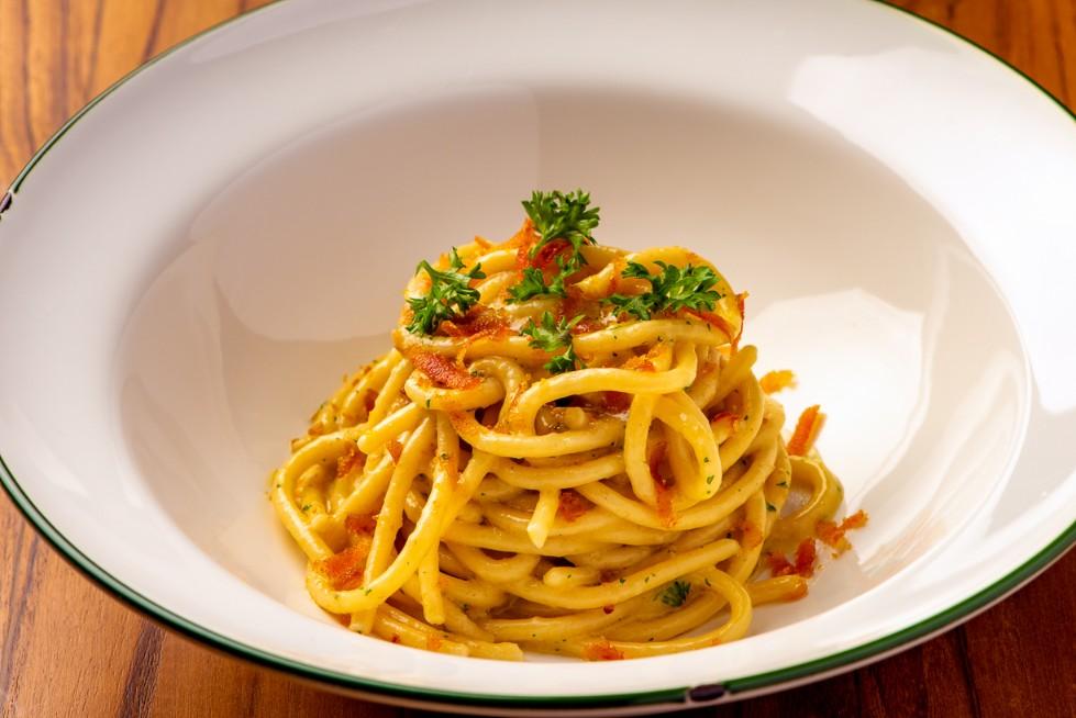 Nonna Nella by Lenzi_fresh pasta in Bangkok_spaghettoni alla bottarga