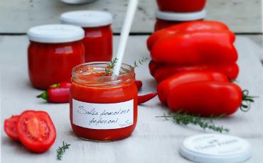 Grocery store Bangkok tomato sauce